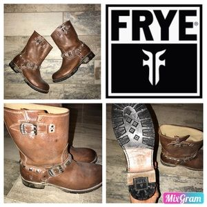 Frye Boots (Veronica or Jenna) Short Stud